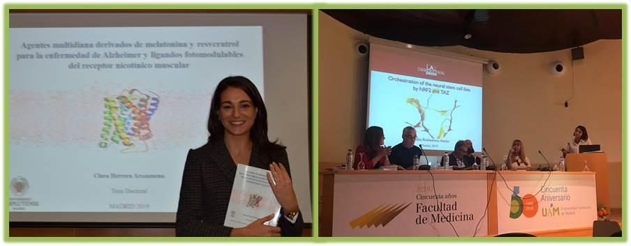 Tesis Doctorales Natalia Robledinos y Clara Herrera